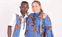 Patapaa and wife,  Liha