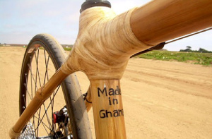 The writer says producing bamboo bicycles will help to reduce crime, such as armed robbery