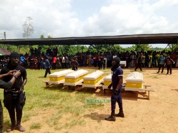 The children were killed by the articulator truck on Friday, November 16 on their way to the mill