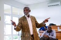 Prof. Stephen Adei now teaches Leadership and Economic Development at Ashesi University