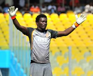 Ghanaian goalkeeper Nana Bonsu