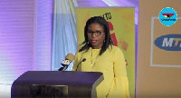 Acting CEO of MTN Ghana, Amma Benneh Amponsah