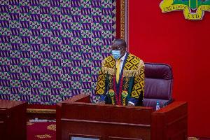 Speaker Of Parliament, Alban Bagbin 2021