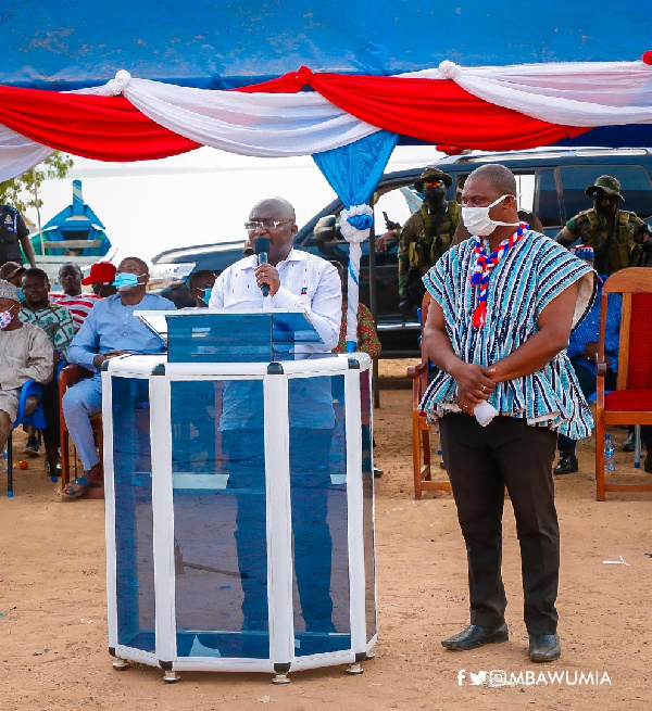 NDC has disappointed you for 28 years; give NPP a chance - Bawumia urges Afram Plains constituents