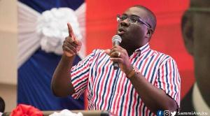 Sammi Awuku, National Organizer,  New Patriotic Party
