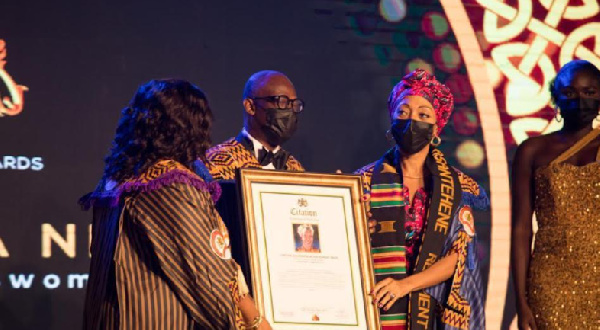 Samia Nkrumah is the daughter of the late Osagyefo Dr. Kwame Nkrumah