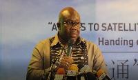 Deputy Communications Minister, George Andah