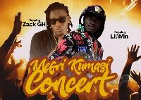 Lilwin and Zack GH are the headline artiste for Mefiri Kumasi' concert 17