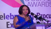 Minister of State in Charge of Public Procurement, Sarah Adwoa Safo