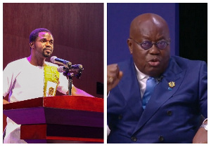 Manasseh Azure has pulled down a demeaning post about the president