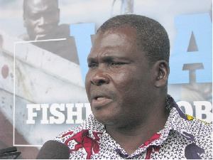 Executive Director of the Fisheries Commission, Mr. Michael Arthur-Dadzie