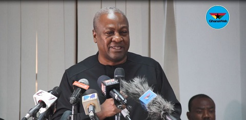 Gov't must stop making excuses for corruption – Mahama