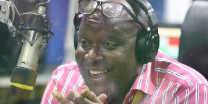 Kwame Sefa Kayi, show host on Peace FM