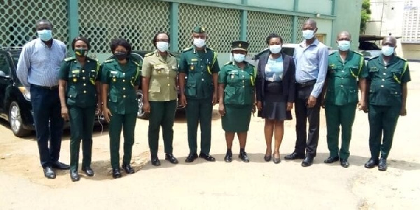 Chief Director of Interior Ministry welcomes new  GIS commander for Greater Accra