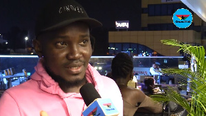 Stand-up comedian OB Amponsah