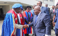 President Akufo-Addo wants to raise the standard of Universities in Ghana