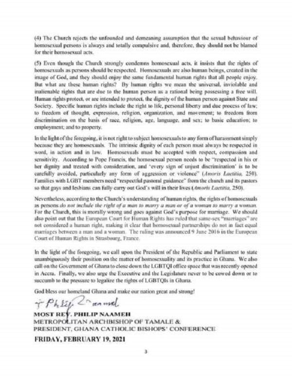 Close down LGBTQI office now - Catholic Church to Akufo-Addo 4