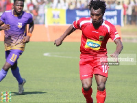 Baba Mahama got the goal Kotoko
