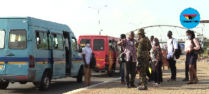 Some passengers were asked to board either a taxi or the Aayalolo bus at Spanner