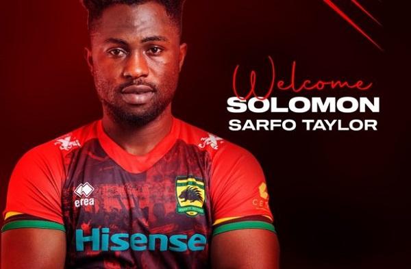 Sarfo Taylor has joined Kotoko