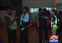 About 127 Ghanaian migrants arrived on Wednesday night from Libya