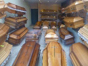 Coffin makers in Kumasi are not making profit due to poor sales