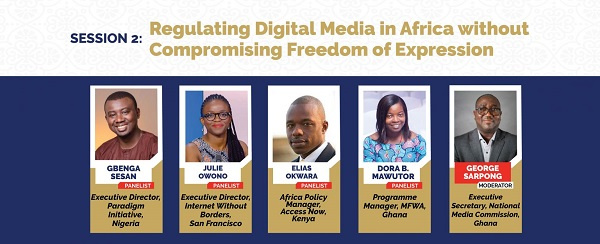 WAMECA 2021: Session 2 – Regulating digital media in Africa without compromising freedom of expression