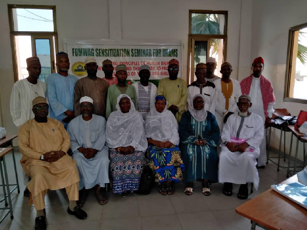FOMWAG holds sensitisation workshops for Imams