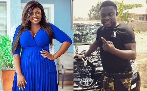 Tracey Boakye And Brother Sammy