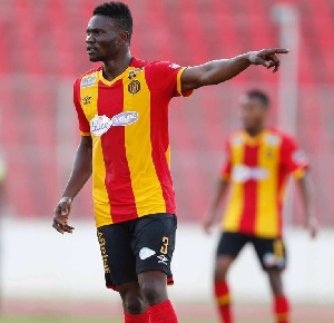 Ghana midfielder Kwame Bonsu