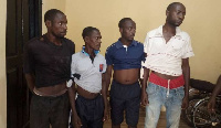 The suspects in Police custody
