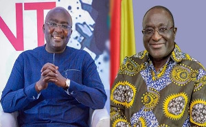 Supporters of Bawumia and Alan Kyeremateng clashed at a funeral