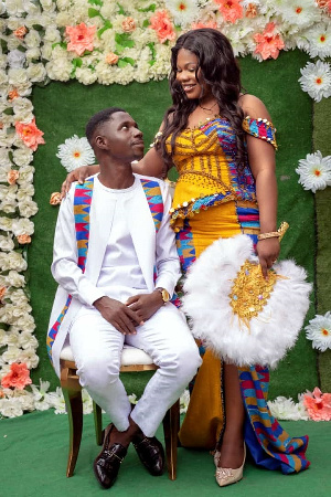Mr & Mrs Opare Gyan are grateful to God, families and friends
