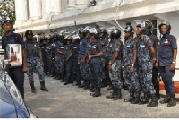Ghanaian police officers on UN peacekeeping mission were accused of sexual assaults