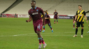 Ghana striker Caleb Ansah Ekuban
