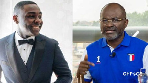 Kevin Taylor and Assin North MP, Kennedy Agyapong