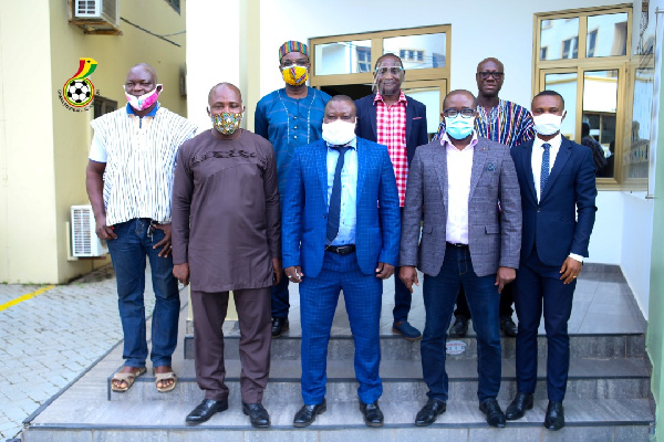 GUSA Executives call on Ghana FA