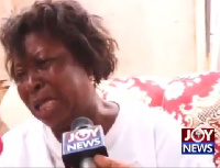 A dejected trader shares her plight following the President's eviction notice