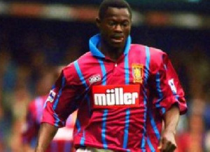 Former Ghana international Nii Odartey Lamptey
