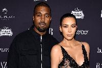 Kanye and Kim West