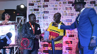 Bro Sammy was honoured for his live worship performances on several media platforms in the country