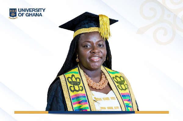 Prof. Appiah Amfo confirmed as first female Vice Chancellor of University of Ghana
