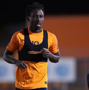Ghanaian winger, Samuel Owusu