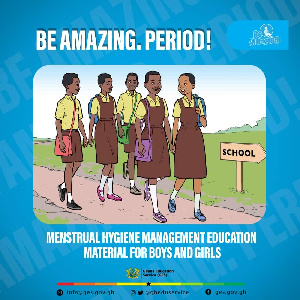 CHRAJ wants no woman or girl to be held back because menstruation