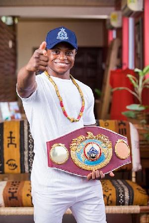 WBO World Super Bantamweight champion, Isaac Dogboe