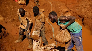 File photo: Traditional gold mining was carried out to conform to the religious beliefs