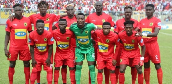 Asante Kotoko name 18-man squad for Medeama trip