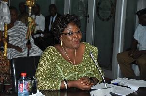 Member of Parliament for Hohoe Constituency Dr. Bernice Adiku Heloo