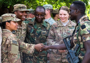 Us Ghana Military
