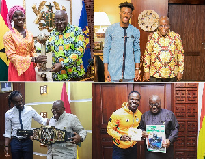 Akufo Addo With Sports Personalities